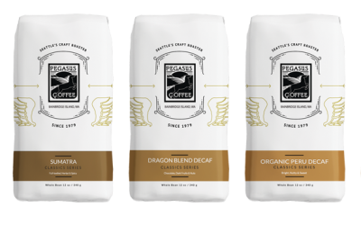 Pegasus Coffee Launches New Packaging