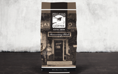 Pegasus Coffee Introduces 40th Anniversary Blend