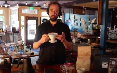 HOW TO BREW #greatcoffeeathome – Pour Over Brewing Demonstration