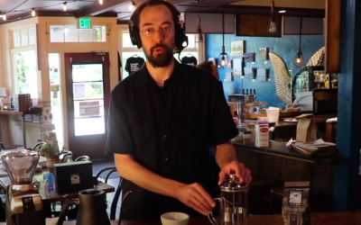 HOW TO BREW #greatcoffeeathome – French Press Demonstration